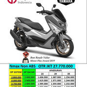 Yamaha N Max Non Abs Matte Grey Harga Jakarta
