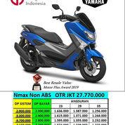 Yamaha N Max Non Abs Blue Harga Jakarta