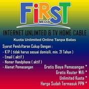 Firstmedia Internet WIFI & TV Chanel