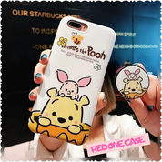 Custom Case Winnie The Pooh & Cony Brown