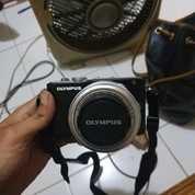 Camera/Kamera Mirrorless/Mini Dslr.Olympus E-Pl3/Epl3.Nego.Cod.Bu