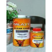 Clear Coat GALAXY C4000 + Hardener H4001 Pengiriman Dalam P. Jawa