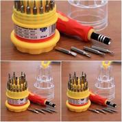 Obeng HP 31 In 1 Impacter / Jackly / Nasa Obeng HP Set Mini Tabung 31in1