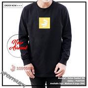 Ready Baju Kaos Pria Lengan Panjang Combed30s