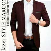 Jas Blazer Maroon