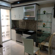 GREEN PRAMUKA TOWER MALL 2 BR FULL FURNISH