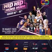 Konser Musik 80's90s - HIP HIP HURA HURA 28 Maret 2020