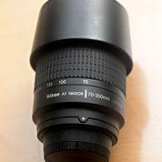 Lensa Nikon AF 70-300mm F 4 5.6G Nikkor