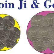 Koin Uang Rp.25,-&Rp.50 Tahun 1971