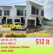 2 Unit Lagi Rumah 2 Lantai Tanah Sereal Bogor Dekat Stasiun Cilebut Dan Tol BORR