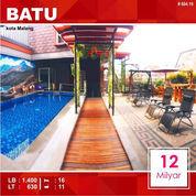 Villa Cafe + Pool 16 Kamar Luas 630 Di Kota Batu Malang _ 604.19