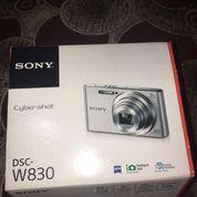 Sony W830 Full Set Dijamin ORI. Pemakaian Baru 3 Bukan, Kondisi Lancar Jaya, Gratis Memori Card 32GB