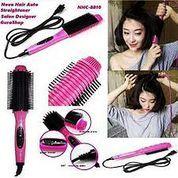 Nova Hair Straightener 8810 NHC Catok Sisir Nova Pelurus Rambut Straight