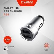 Cas Mobil Saver Charger Mobil FLECO F-66 AUTO ID Fast Charging