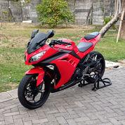 Kawasaki Ninja 2017 Warna Original 98% Mulus