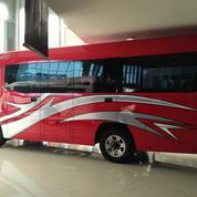 Isuzu Elf Nlr Minibus Long Executive New Armada 20 Seat Tahun 2018