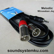 Kabel Jack Mini Stereo To Canon BMA