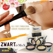 Zwart All Day Fabulous Cover Foundation By MoX 12 Gr.