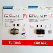 Flashdisk OTG Dual USB 3.0 Sandisk 32GB Garansi Resmi Sandisk Indonesia