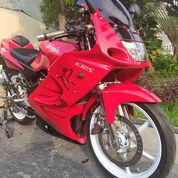 Kawasaki Ninja 150RR 2011 Special Edition Full Modif Hedon,Mulus