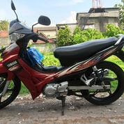 Sepeda Motor Jupiter Z Merah Hitam 2007 (Second)