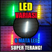 LAMPU STRIP LED 6 TITIK