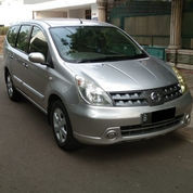Nissan Grand Livina XV Matic 2010 Silver Ors