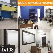 Kios Jl. Raya Duri Kosambi, Jakarta Barat, 70 M, 1 Lt, SHM