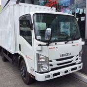 Isuzu NMR 71 Truck 6 Ban CDD Box Besi ( Mobil Baru )