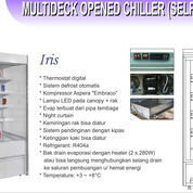 MULTIDECK OPENED CHILLER(SELF CONTAINED) IRIS-100