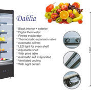 MULTIDECK OPENED CHILLER SELF CONTAINED (DAHLIA-1380)