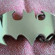 Sabuk Buckle Chrome Batman