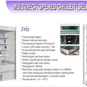 MULTIDECK OPENED CHILLER SELF CONTAINED IRIS-100