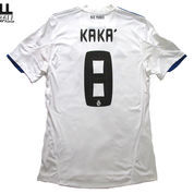 2010-2011 REAL MADRID HOME UCL EDITION ORIGINAL JERSEY Size M KAKA' #8