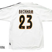 2003-2004 REAL MADRID HOME ORIGINAL JERSEY M BECKHAM #23 *BNWD*