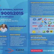 Training & Certification Internal Auditor ISO 9001:2015 QMS - Surabaya Class