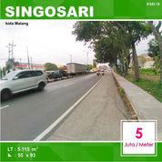 Tanah Luas 5.115 Poros Jalan Mondoroko Singosari Kota Malang _ 643.19