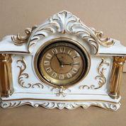 Silicon Clock 4 Jewels Tokyo Japan Ceramic