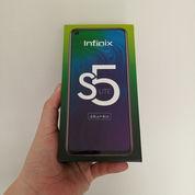 Infinix S5 Lite, BARU, 4/64GB, Garansi Resmi, Layar Infinity O, Bisa COD