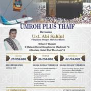 Termurah Harga Umroh Plus Thaif Pasar Rebo Jakarta