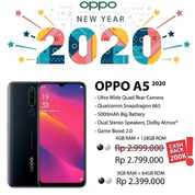 OPPO A5 2020 > DP 650 RB Bunga 0% GRATIS 1X Cicilab