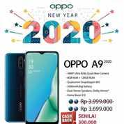 OPPO A9 2020 > DP MURAH CICILAN BUNGA 0% GRATIS 1X CICILAN
