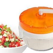 Blender Pemotong Sayuran Manual, Twisting Vegetable Chopper