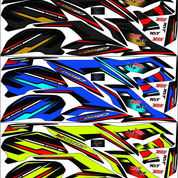 Striping Variasi Sticker Lis CB150R New V3 Terbaru