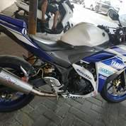 YAMAHA White Blue R25