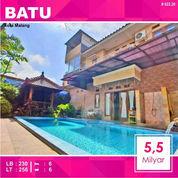 Rumah Villa + Kolam Luas 256 Di Kusuma Estate Kota Batu Malang _ 022.20