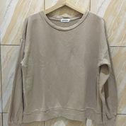 Sweater Oversize Crewneck Preloved Thrift