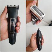 Alat Cukur 3 In 1 Paling Lengkap, Bisa Cukur Rambut, Kumis, Jenggot, Bulu Hidung & Bulu2 Yg Lain
