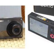 Camdig Kamera Pentax Optio RS1000 Fullset Black Seriess Include Memori