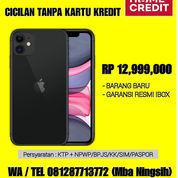 Iphone 11 (Garansi IBox) Cicil Proses 7 Menit Tanpa CC